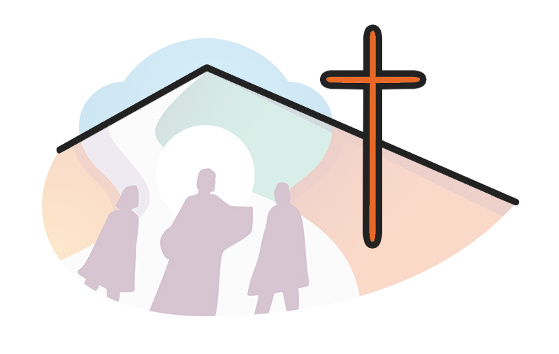 nuovo logo comunità pastorale novate sacra famiglia