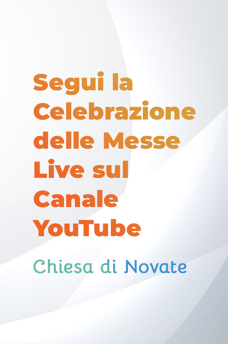 youtube chiesa novate